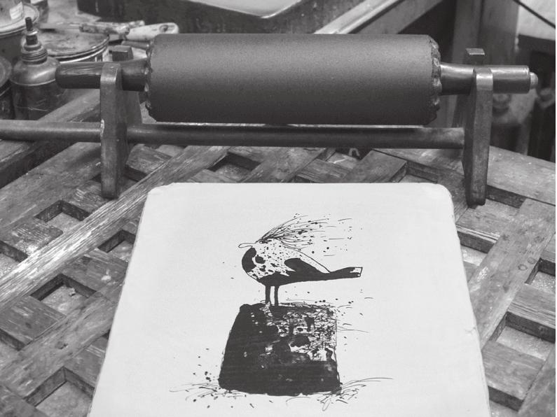 30 Jahre Werkstatt Künstlerische Lithographie Berlin Treptow