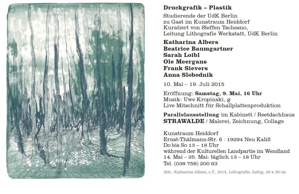 Druckgrafik-Plastik – Kunstraum Heiddorf