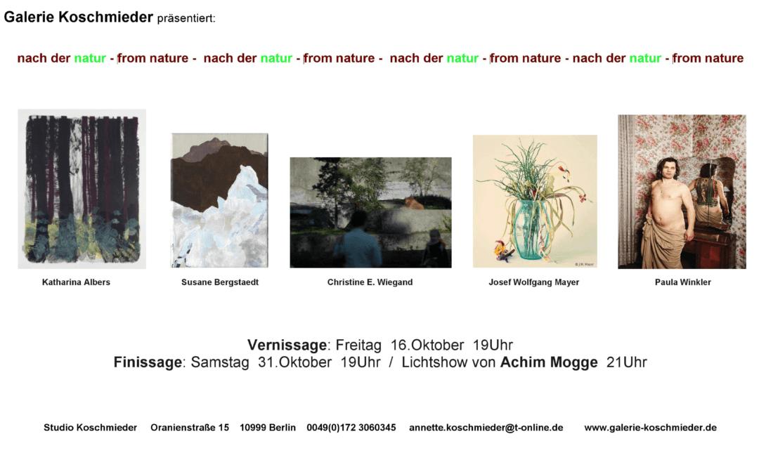 nach der natur – Galerie Koschmieder Berlin