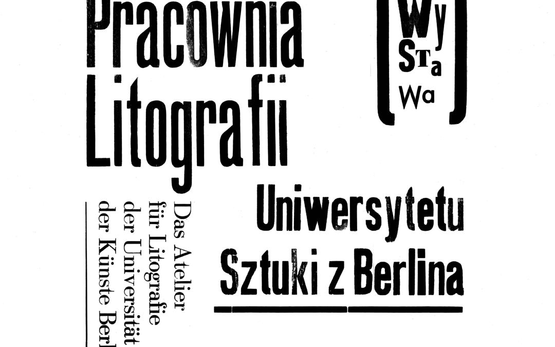 Pracownia Litografii Universytetu Sztuki z Berlina