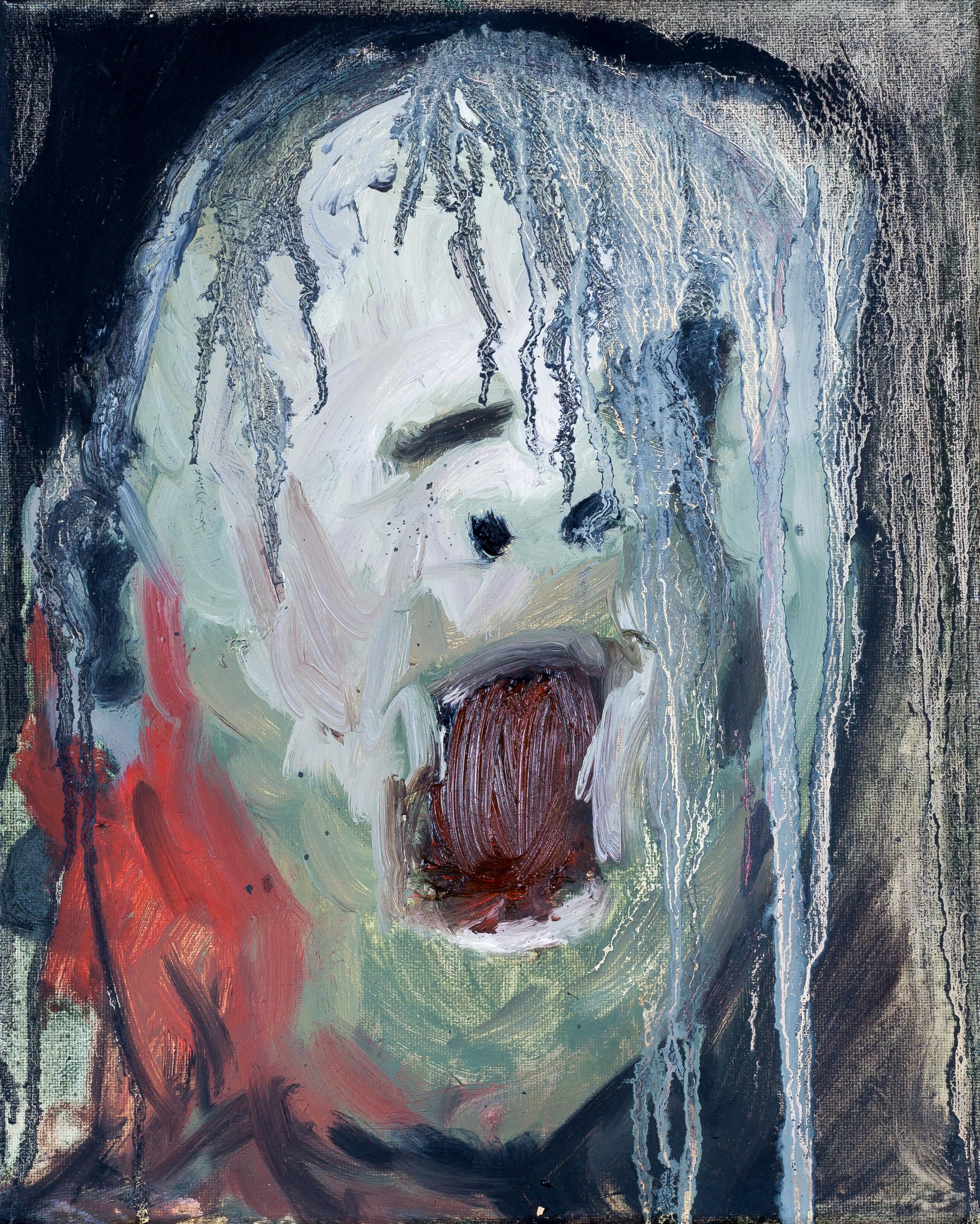 Katharina Albers, Transformation XXIII, 2011, Öl auf Leinwand, 30×24 cm