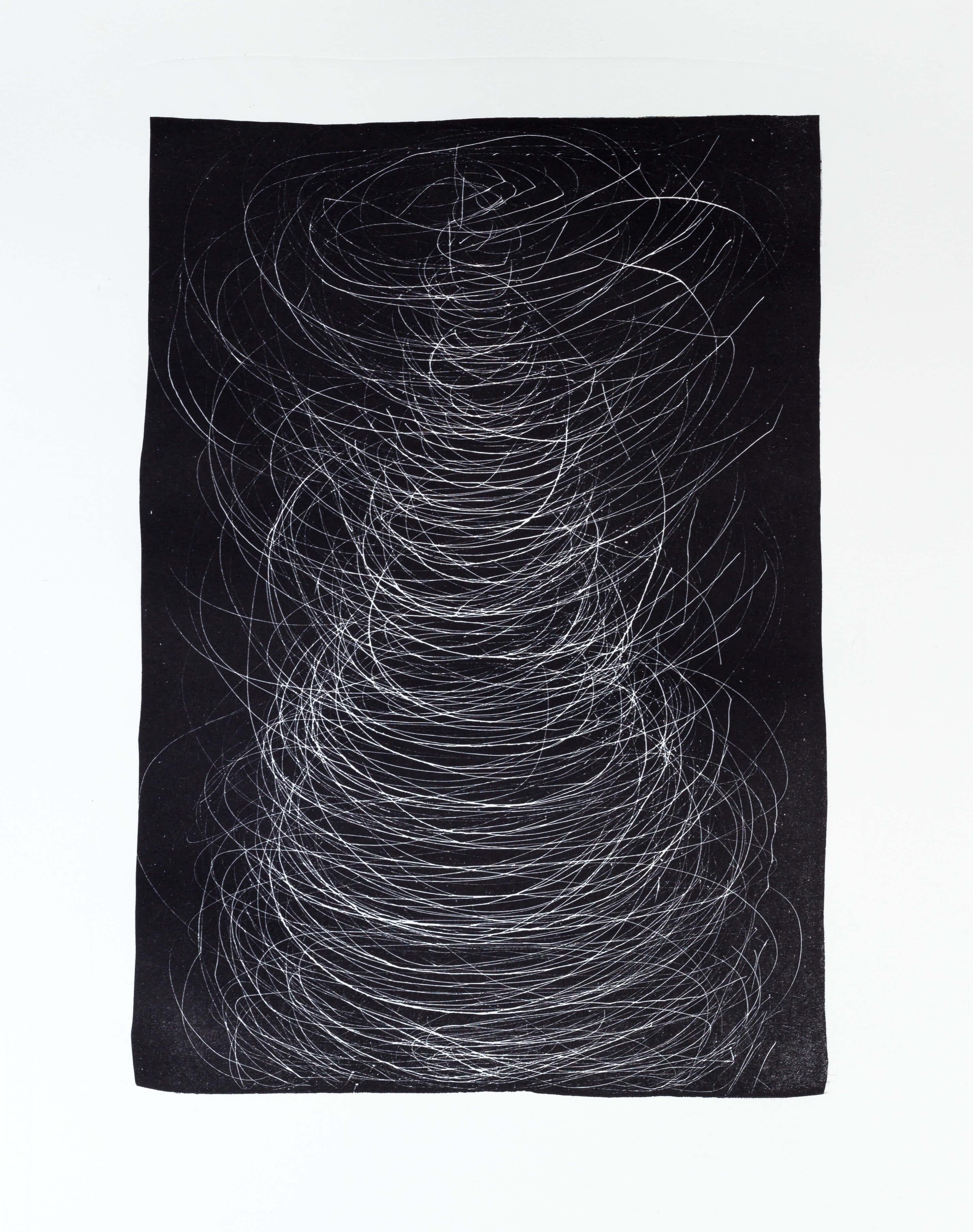 Katharina Albers, Transformation IV, 2011, Schablithographie, 4 Auflagen, 40x29,5cm