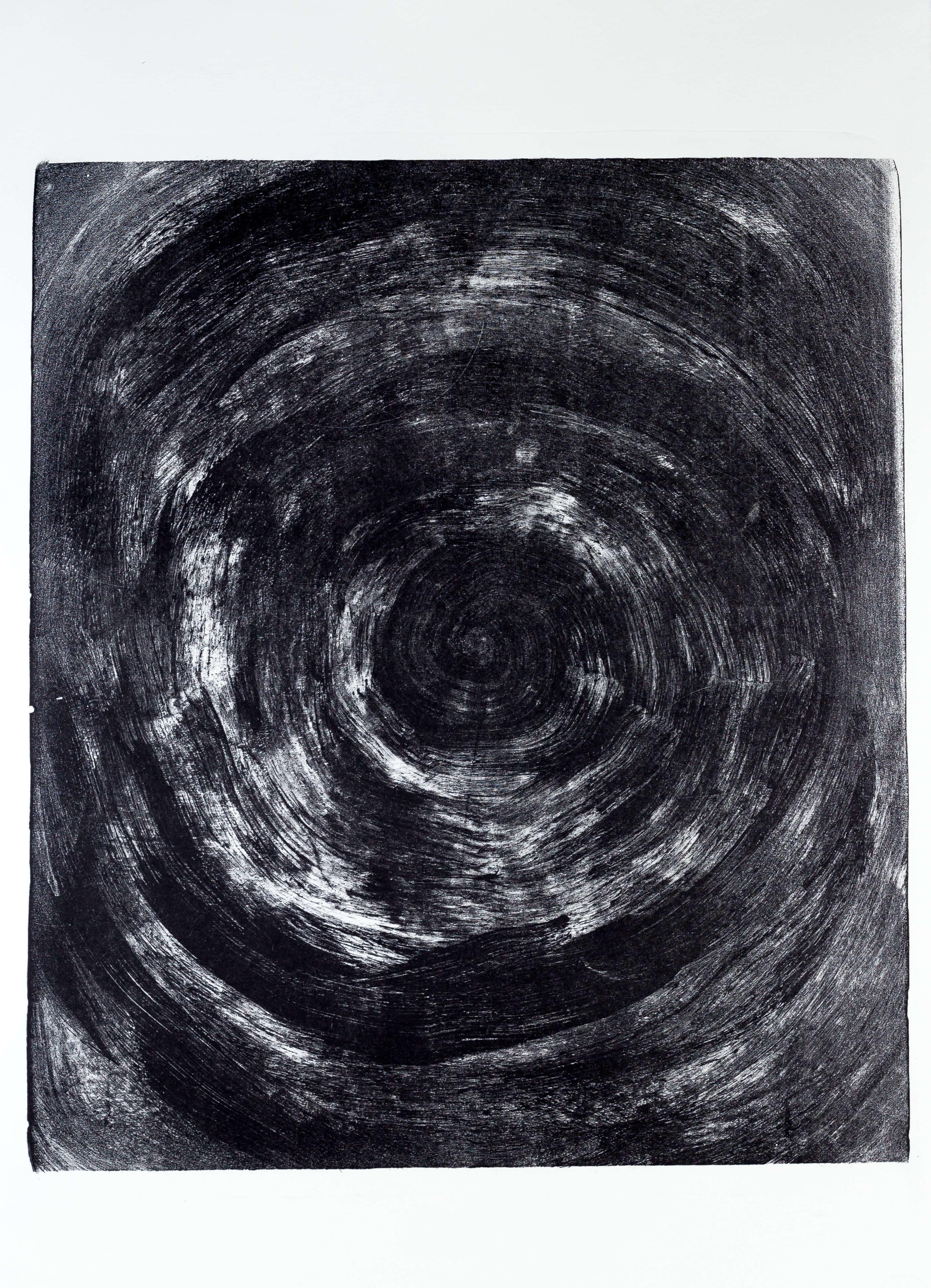 Katharina Albers, Transformation IX, 2011, Lithographie, 4 Auflagen, 59,5x48,5cm