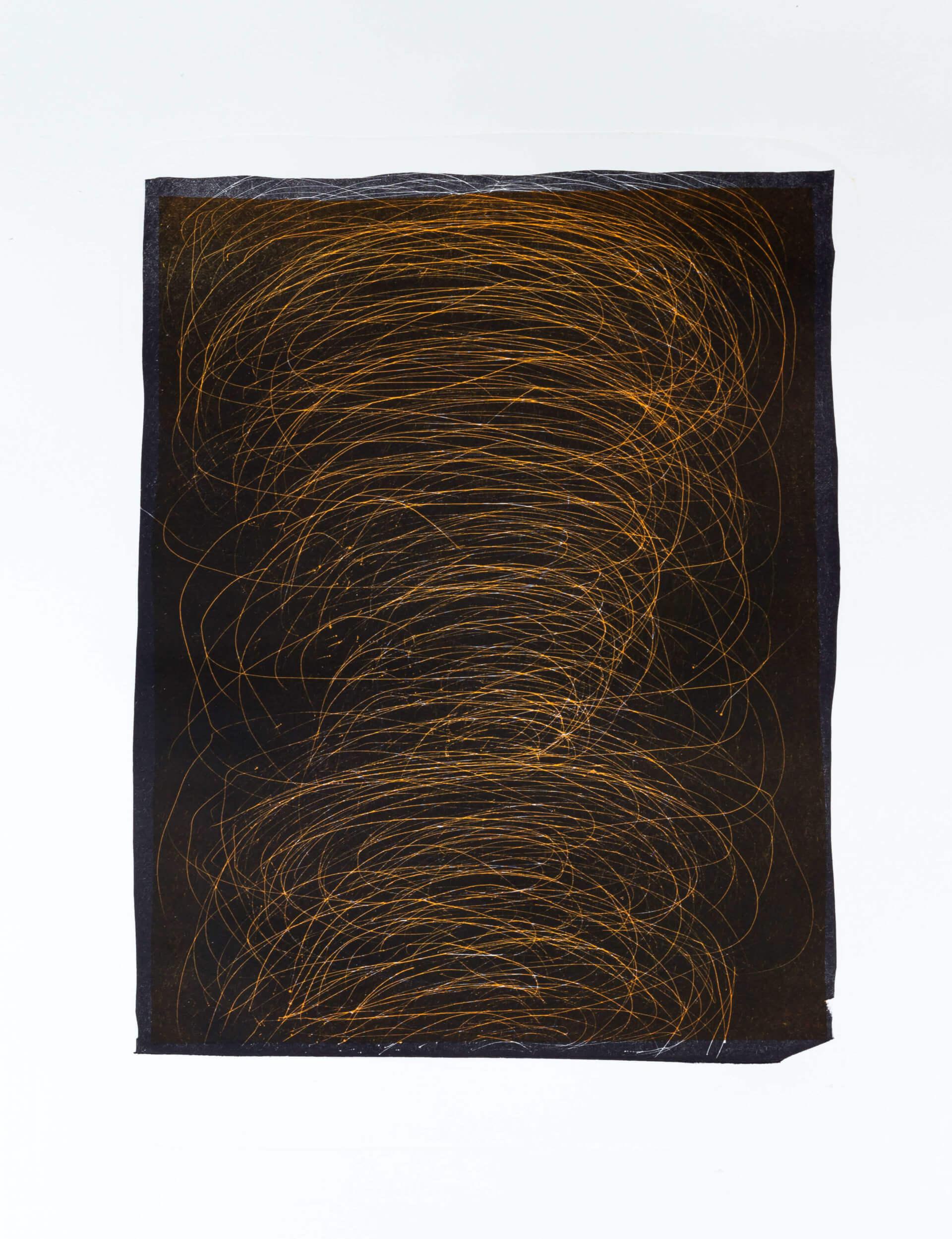 Katharina Albers, Transformation VI, 2011, Schablithographie, 2 Auflagen, 40x29cm