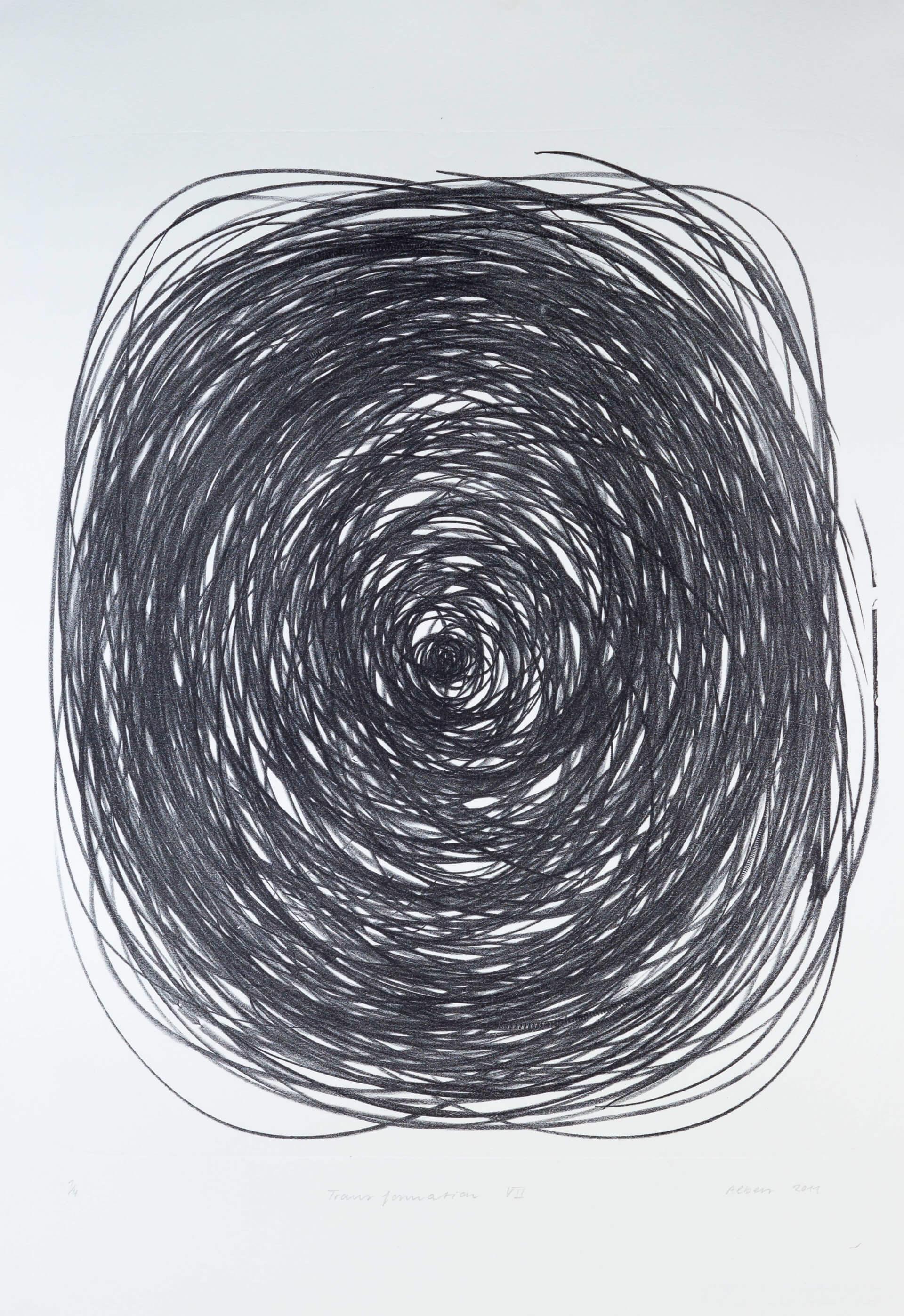 Katharina Albers, Transformation VII, 2011, Lithographie, 4 Auflagen, 59,5x48,5cm