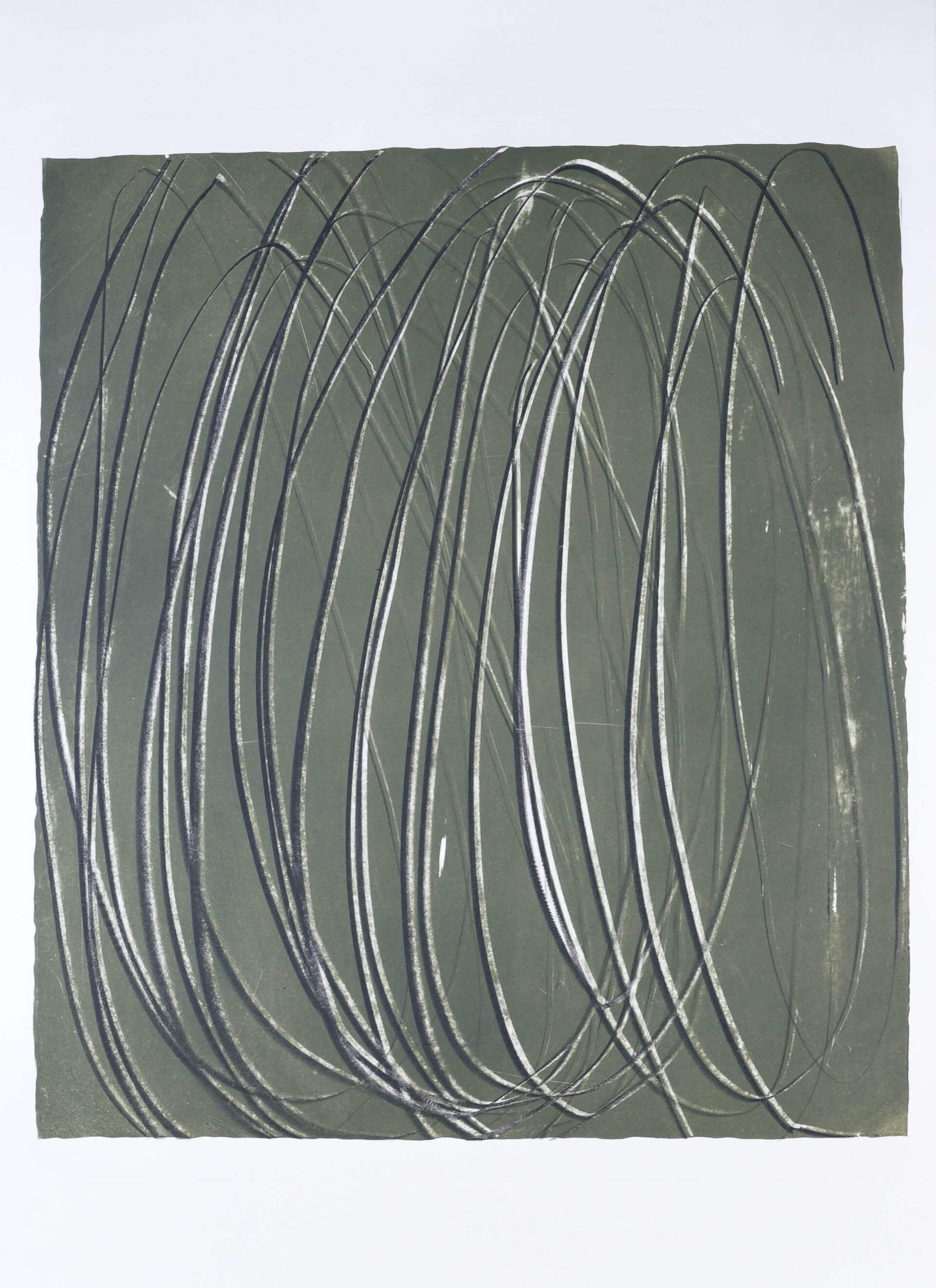 Katharina Albers, Transformation XIII, 2011, Farblithographie, 5 Auflagen, 59,5x48,5cm