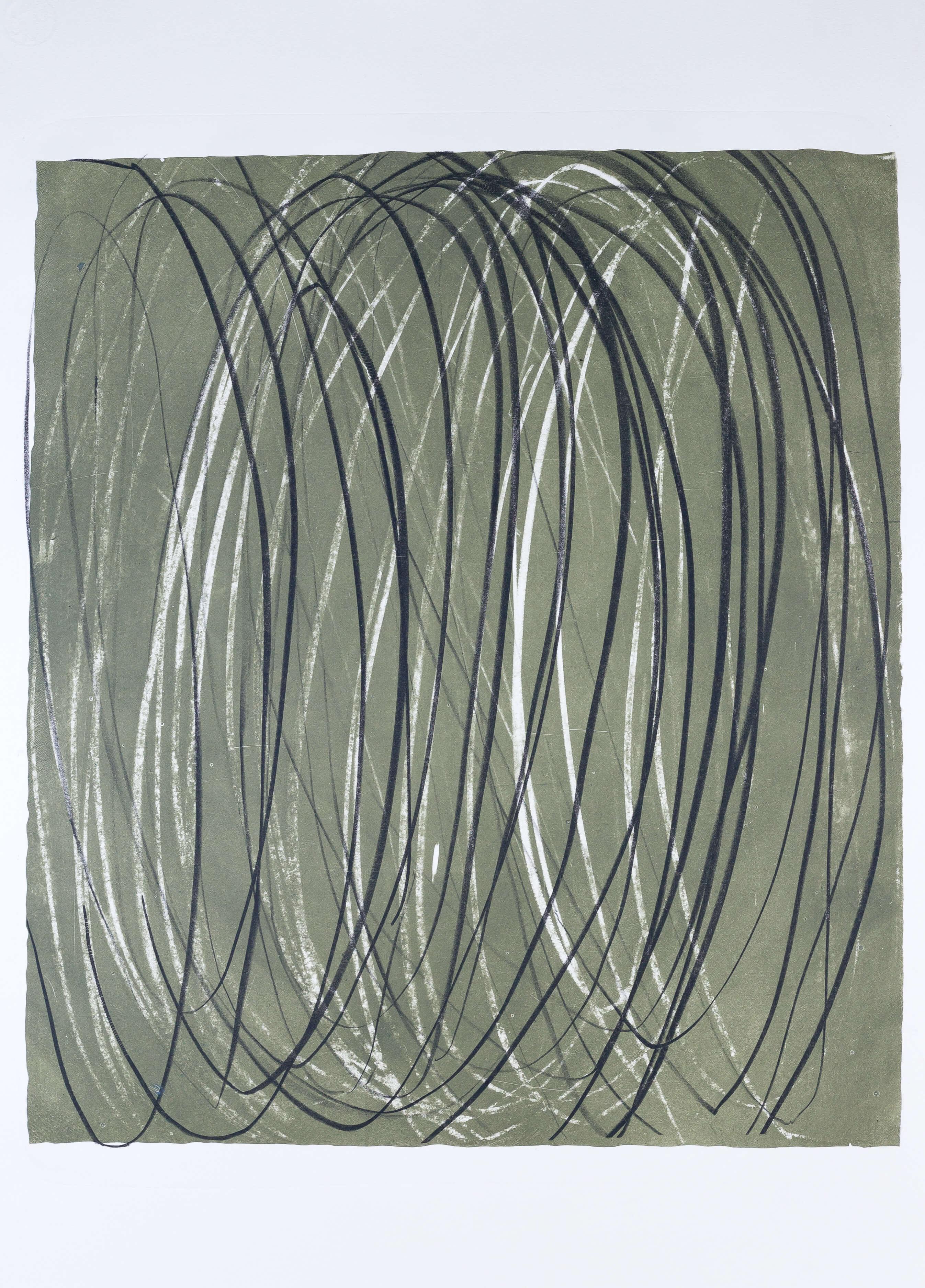 Katharina Albers, Transformation XIII.I, 2011, Farblithographie, Unikat, 59,5x48,5cm