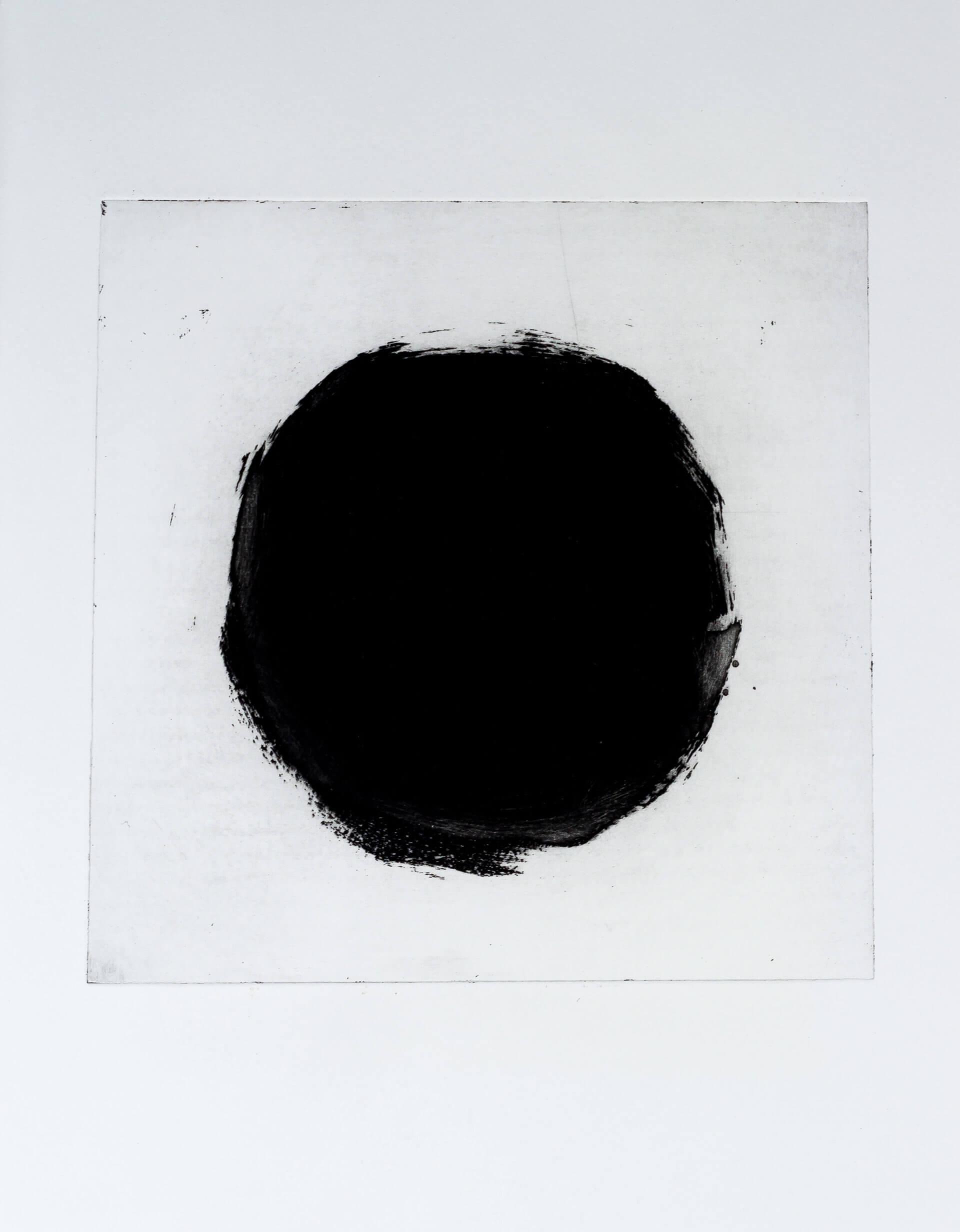 Katharina Albers, Transformation XVI, 2011, Aquatinta, 2 Auflagen, 23,5x23,5cm