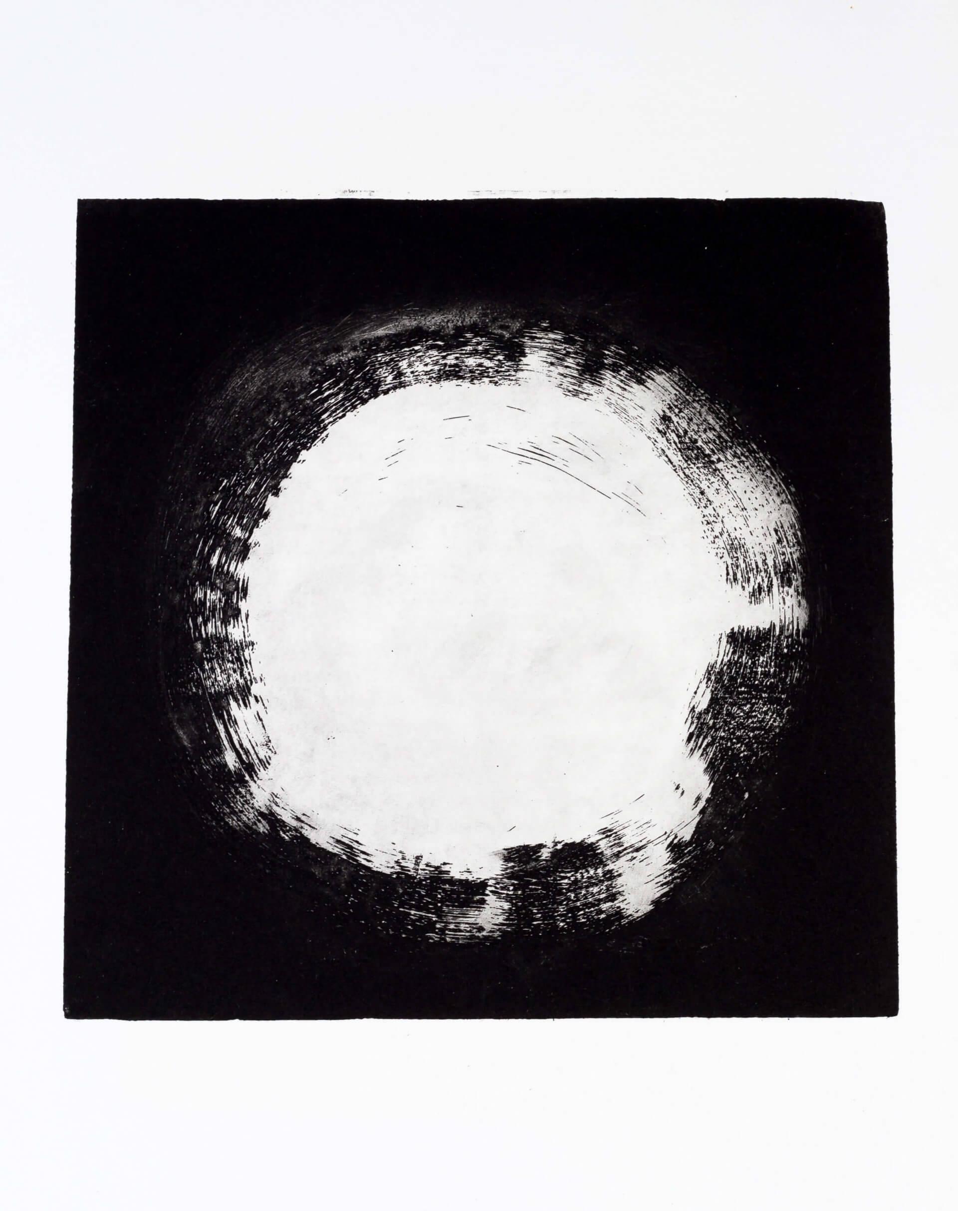 Katharina Albers, Transformation XVII, 2011, Aquatinta, Unikat, 24x23,5cm