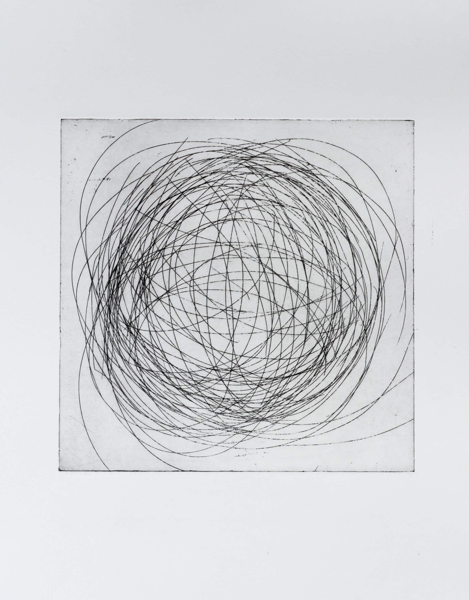 Transformation XVIII, 2011, Radierung, 2 Auflagen, 23,5x23,5cm