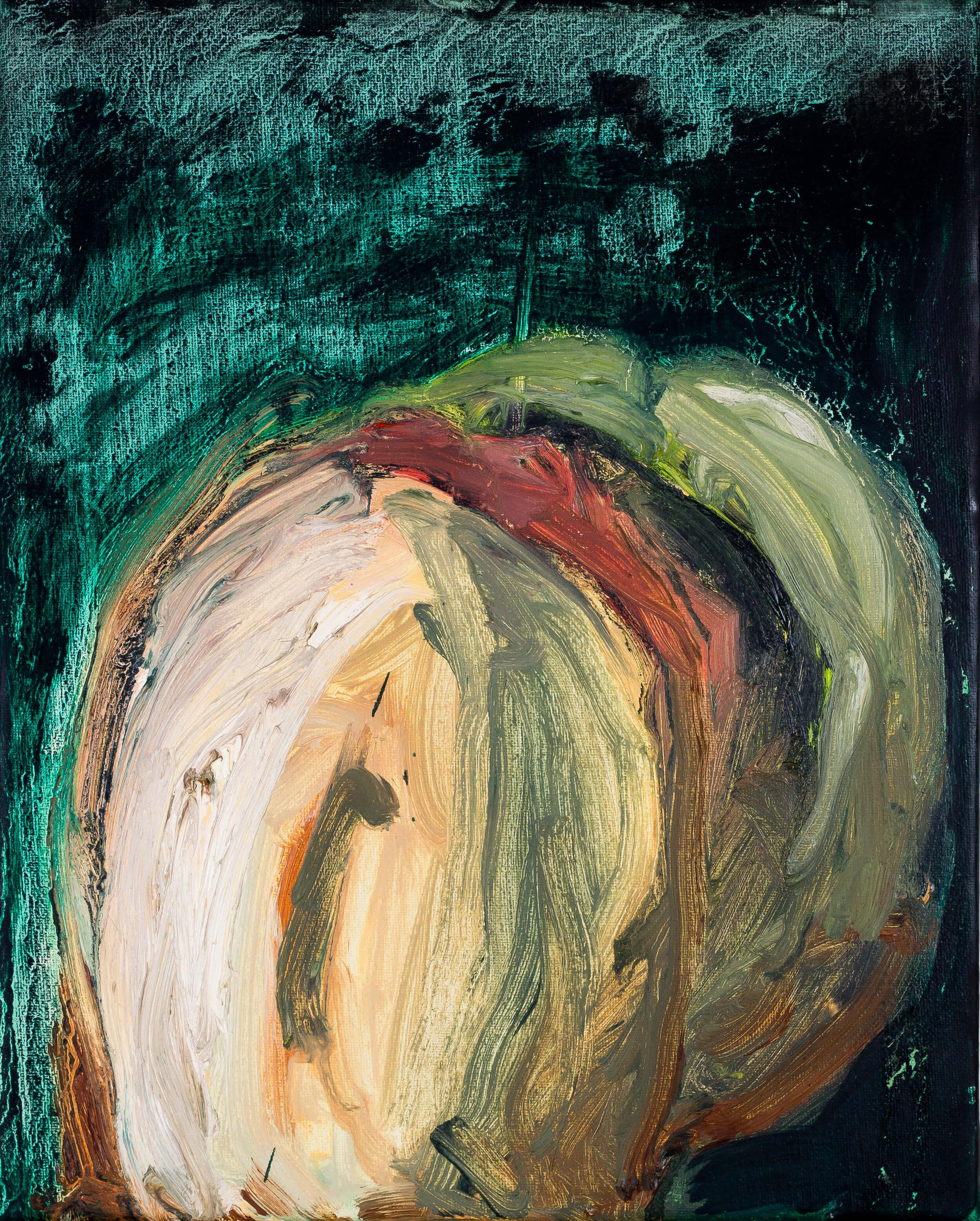 Katharina Albers, Transformation XXV, 2011, Öl auf Leinwand, 30×24 cm