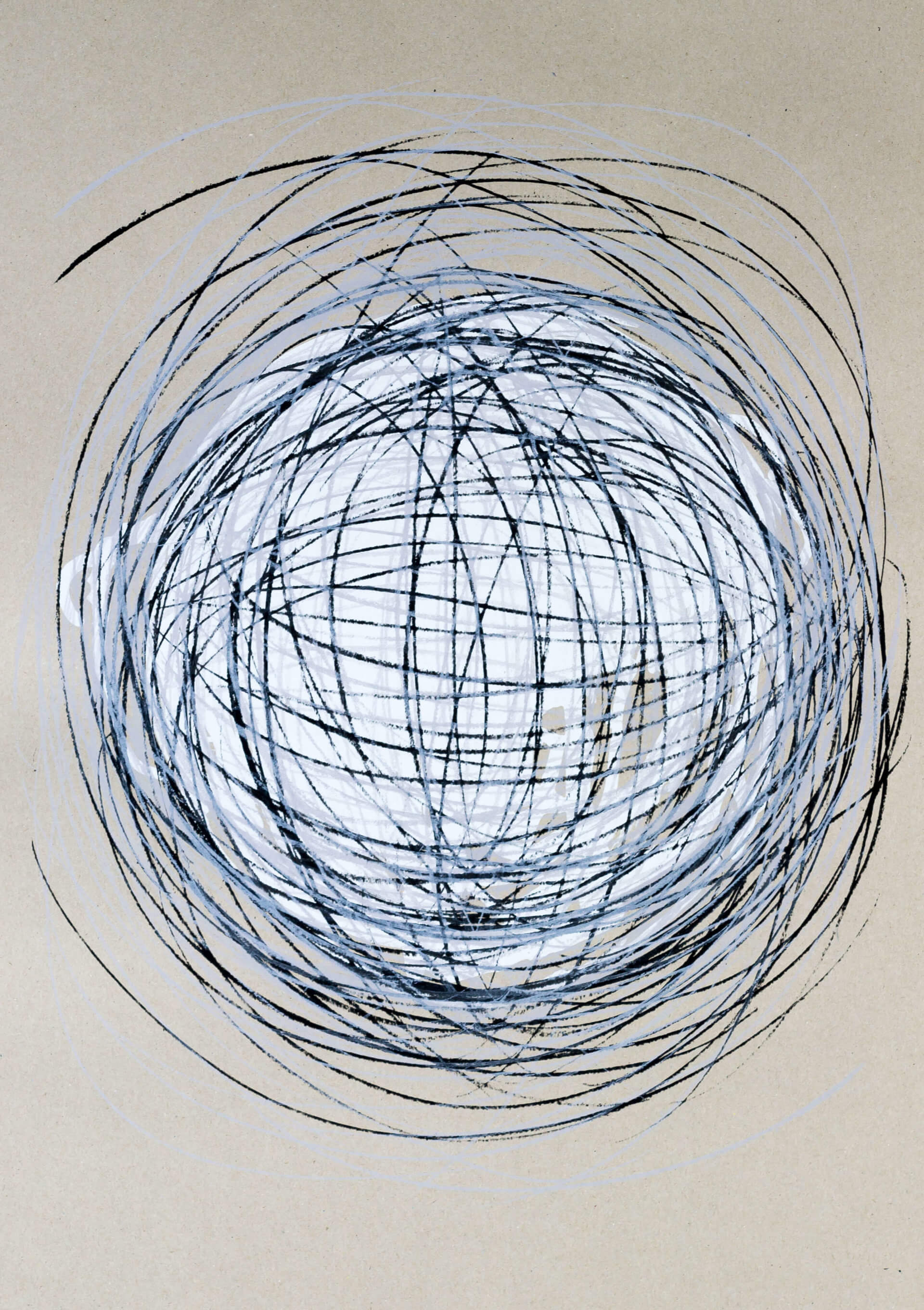 Katharina Albers, Transformation XXVI, 2011, Siebdruck, Unikat, 59,5x42cm