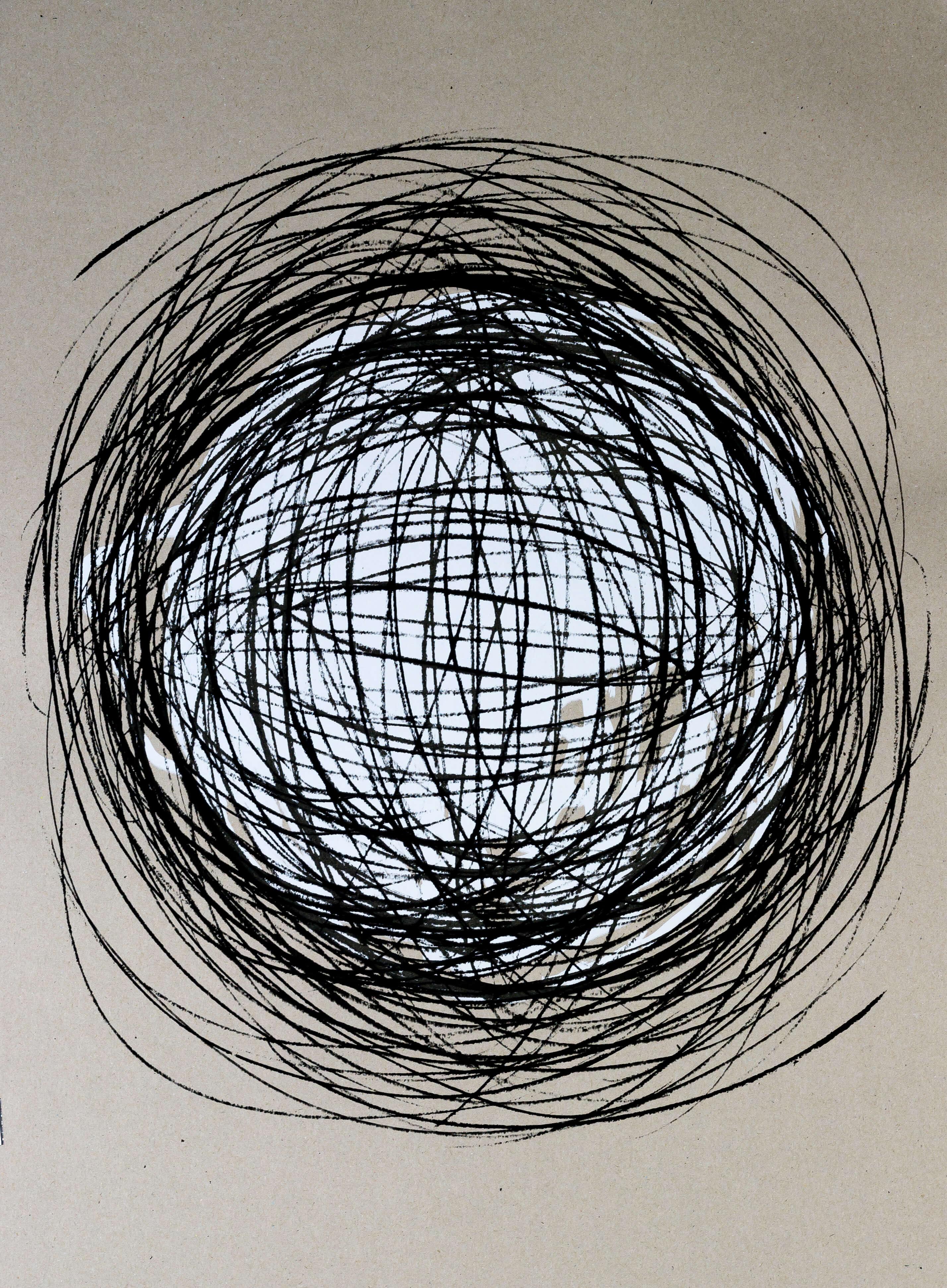 Katharina Albers, Transformation XXVIII, 2011, Siebdruck, Unikat, 59,5x42cm