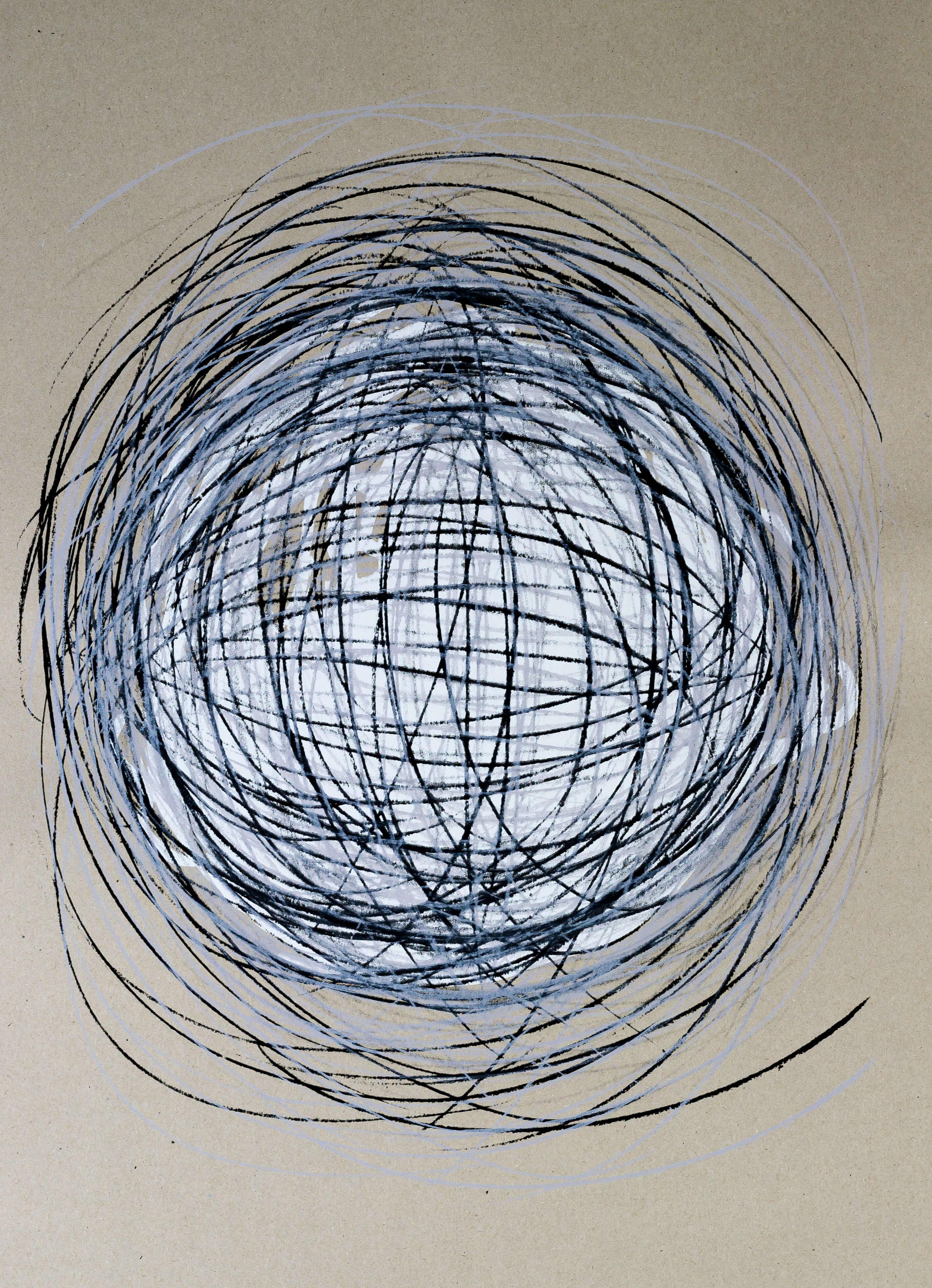 Katharina Albers, Transformation XXX, 2011, Siebdruck, Unikat, 59,5x42cm