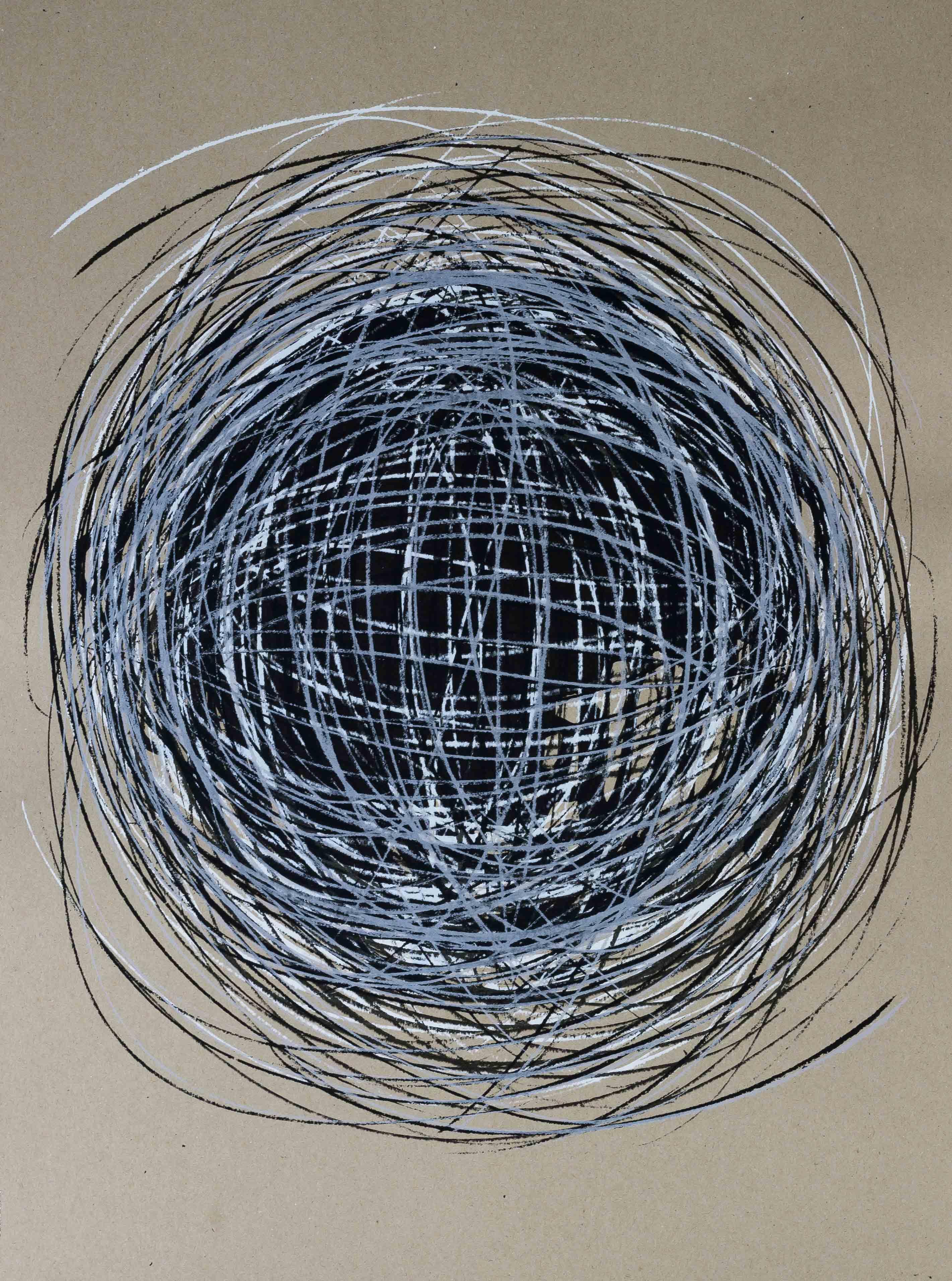 Katharina Albers, Transformation XXXI, 2011, Siebdruck, Unikat, 59,5x42cm