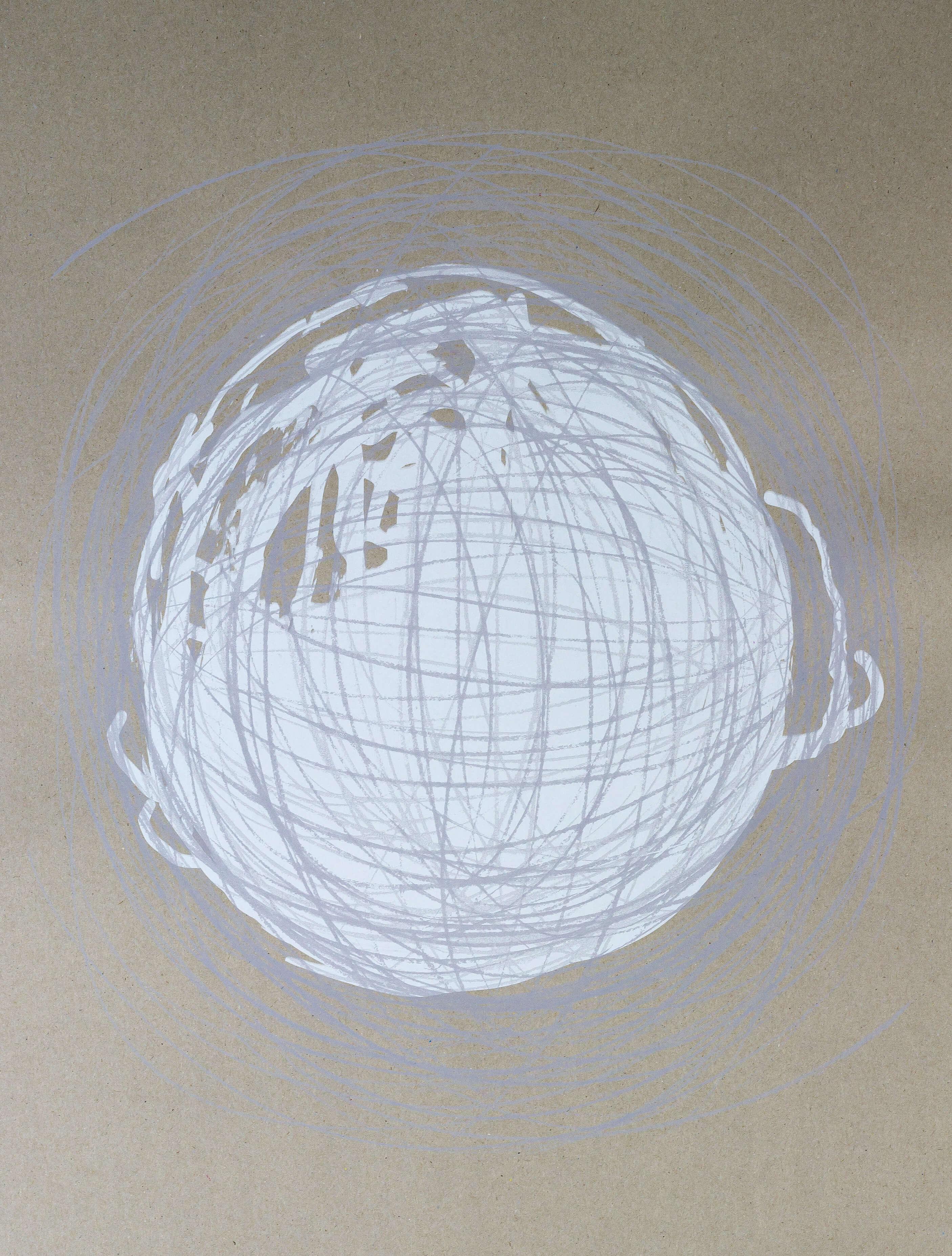 Katharina Albers, Transformation XXXII, 2011, Siebdruck, Unikat, 59,5x42cm