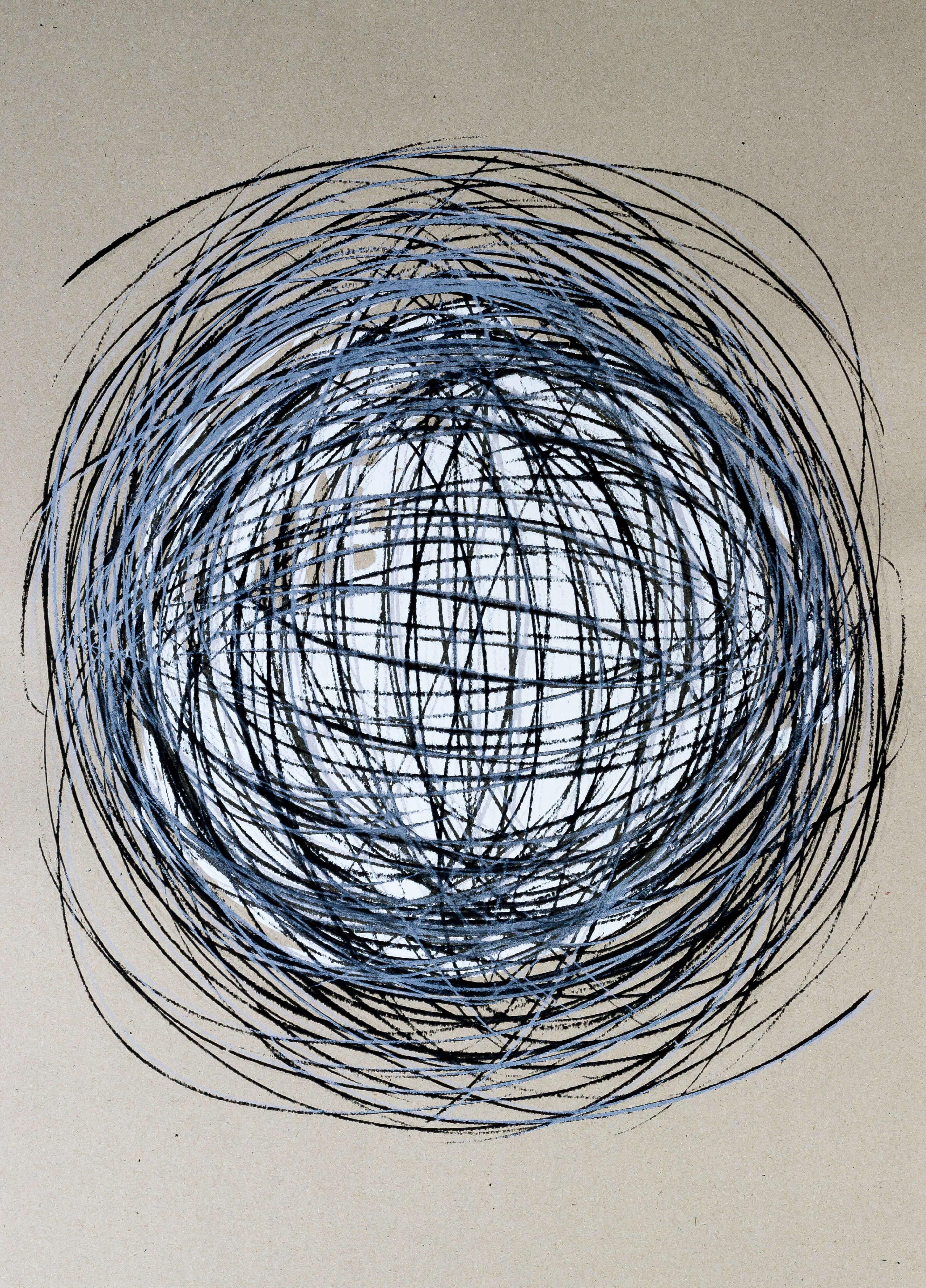Katharina Albers, Transformation XXXIII, 2011, Siebdruck, Unikat, 59,5x42cm