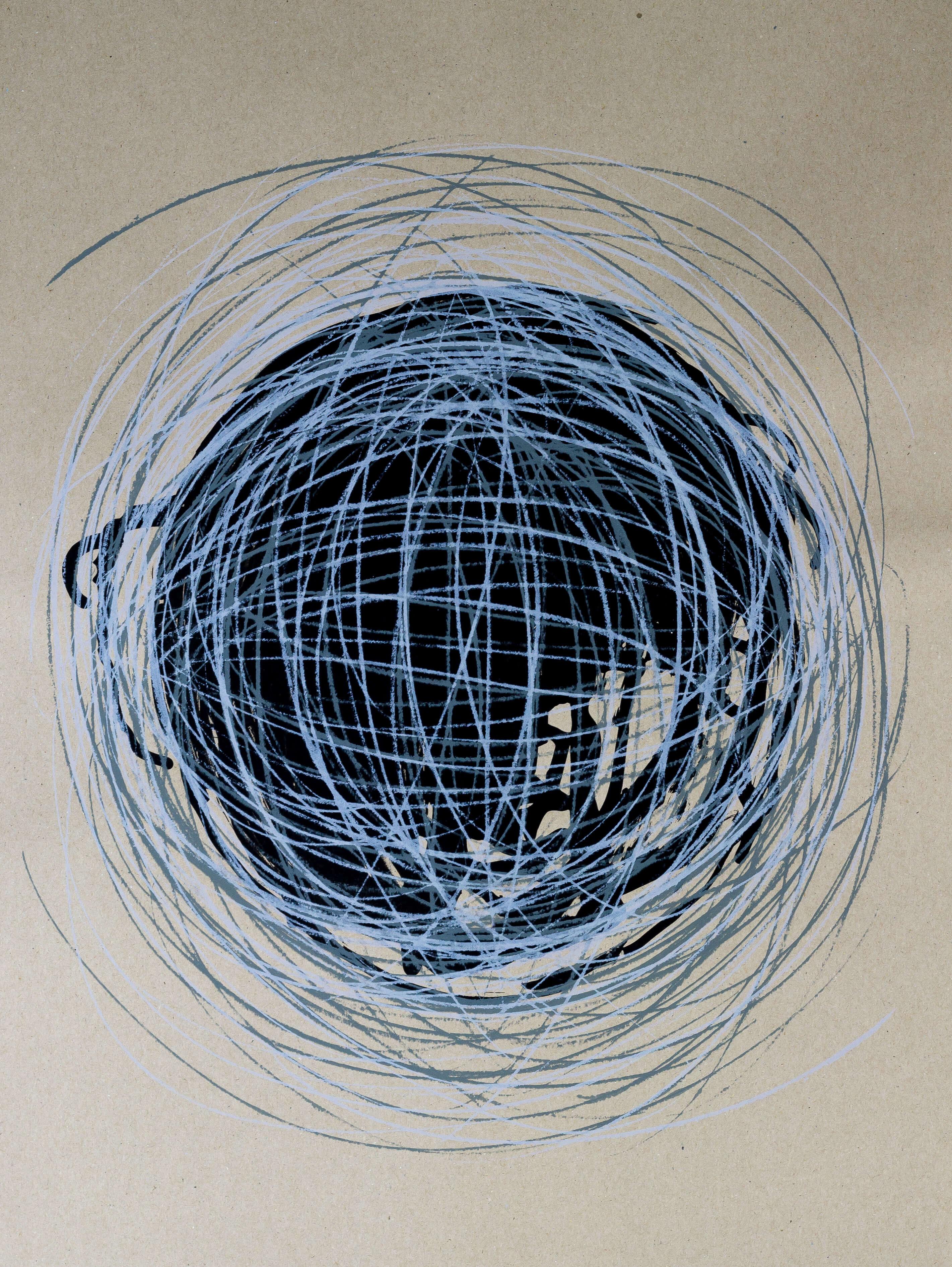 Katharina Albers, Transformation XXXV, 2011, Siebdruck, Unikat, 59,5x42cm