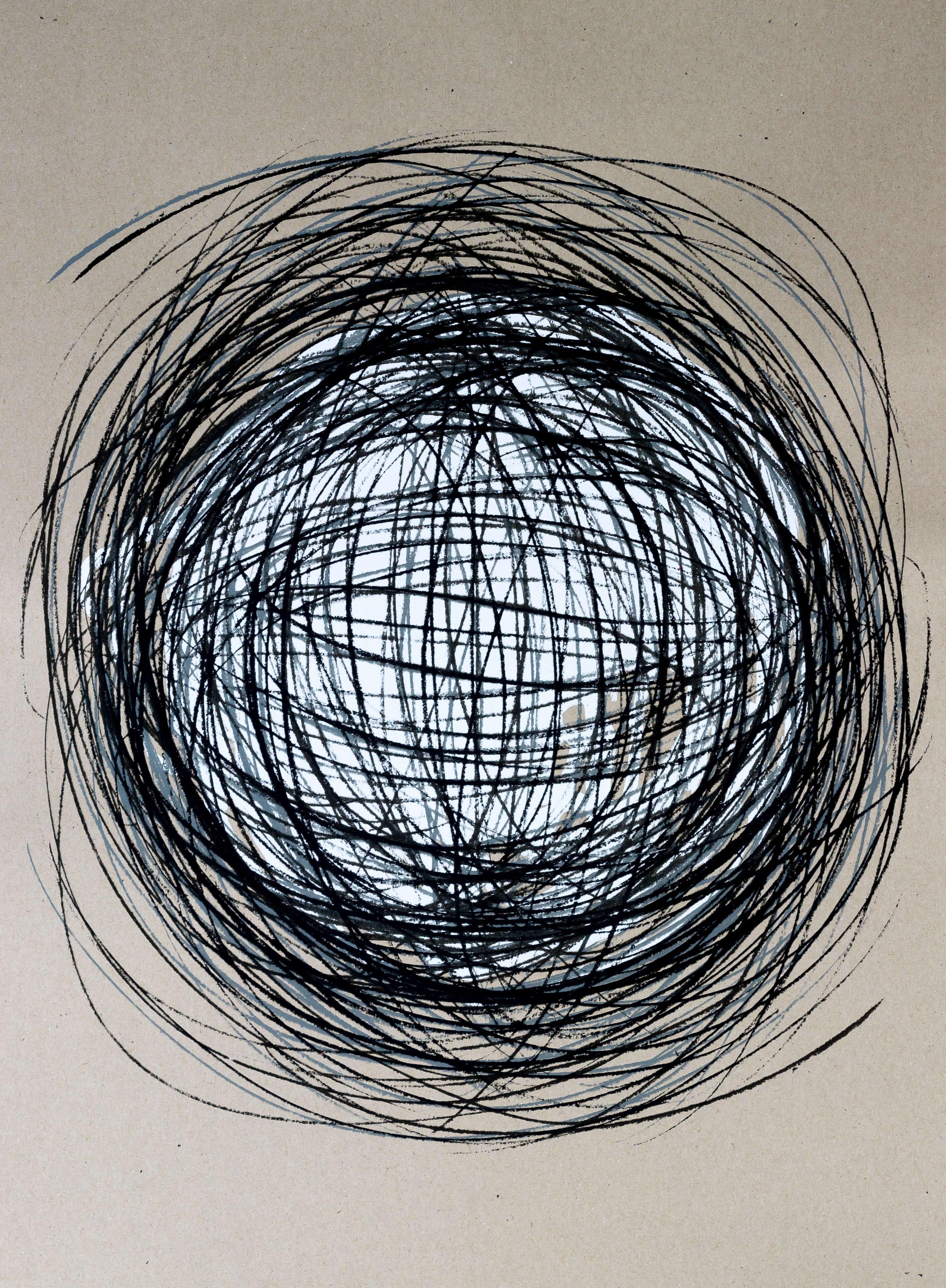 Katharina Albers, Transformation XXXVI, 2011, Siebdruck, Unikat, 59,5x42cm