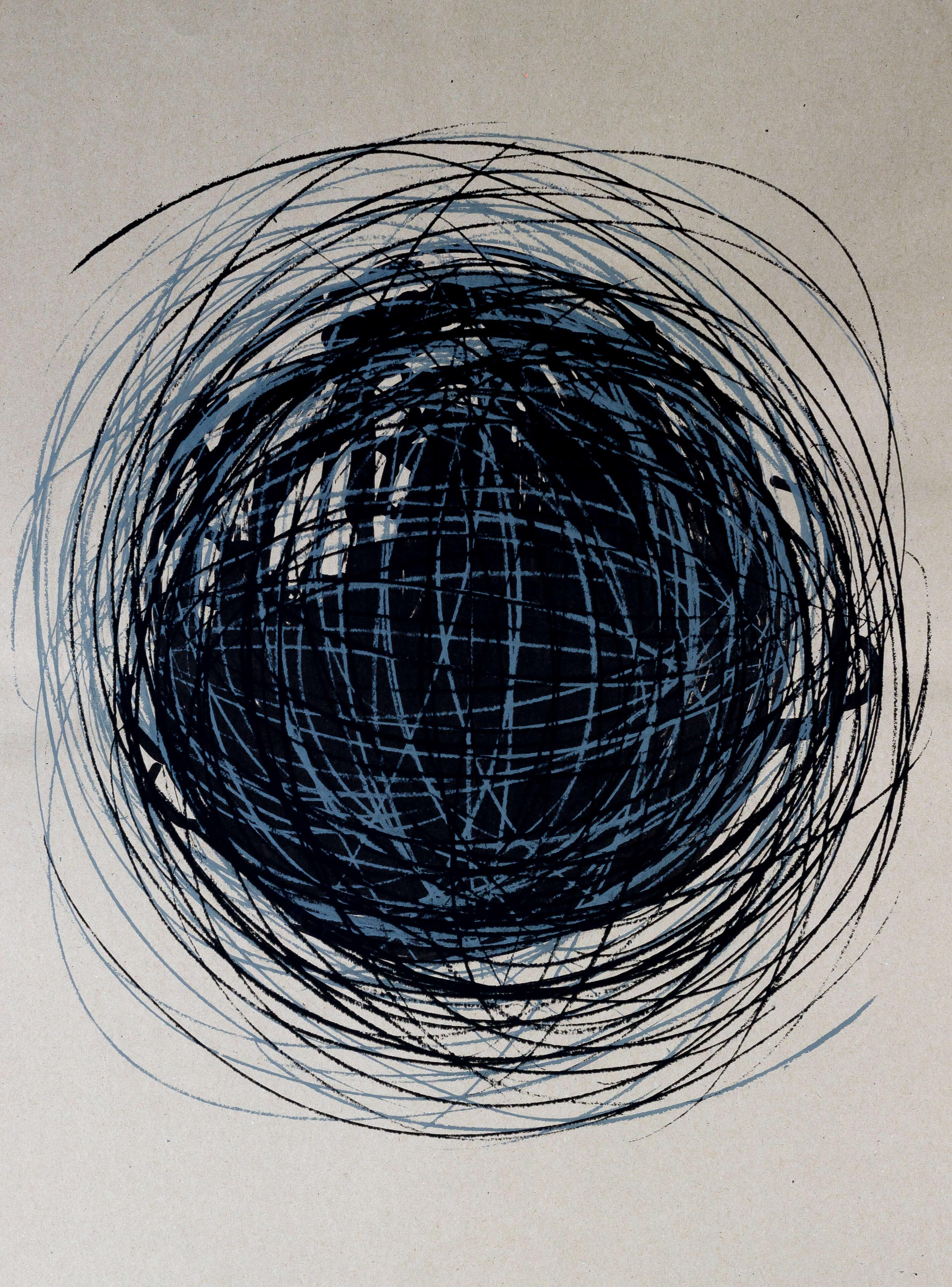 Katharina Albers, Transformation XXXVII, 2011, Siebdruck, Unikat, 59,5x42cm