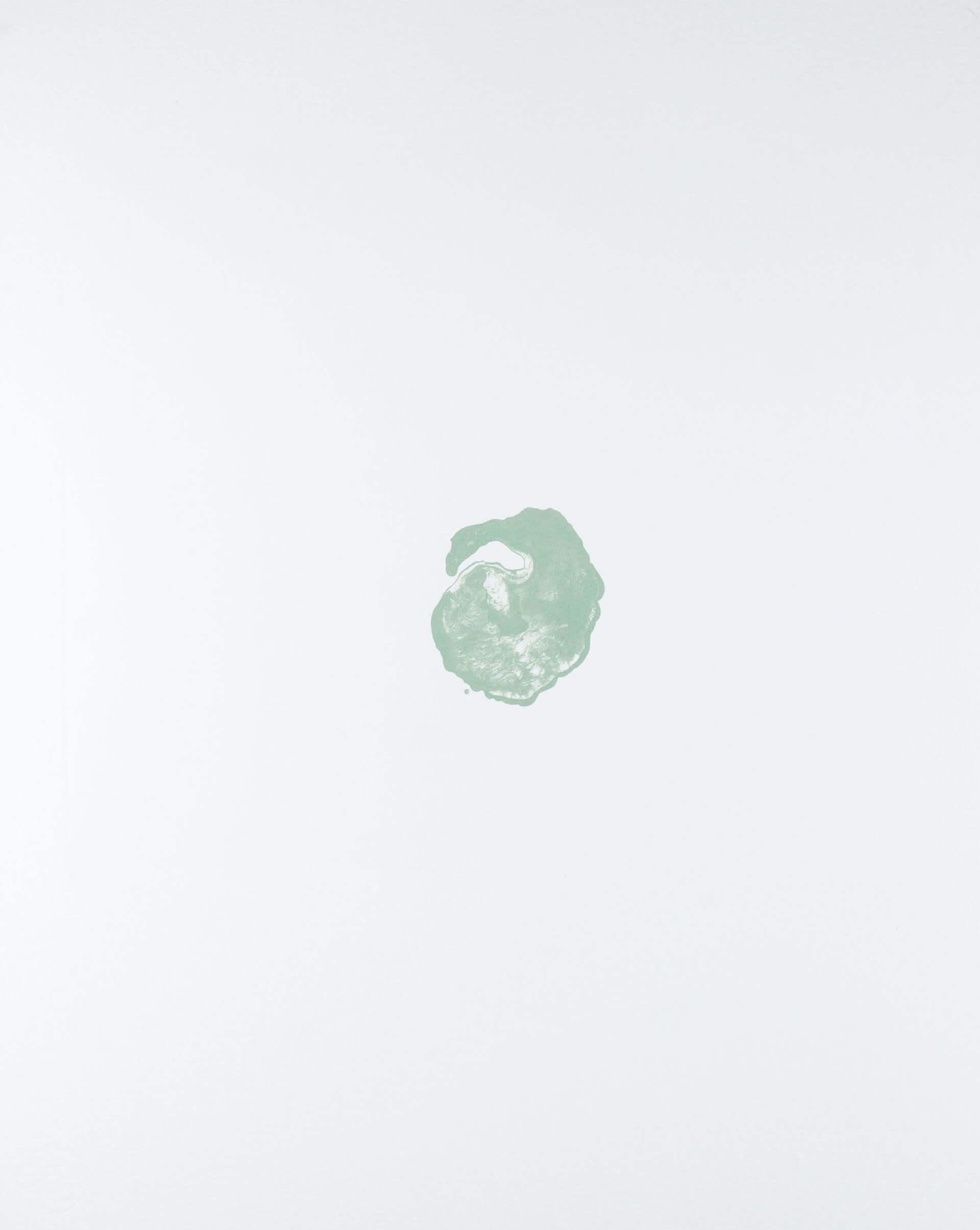 Katharina Albers, organism (growing)(A), 2017, Farblithographie, Unikat, 56x45 cm
