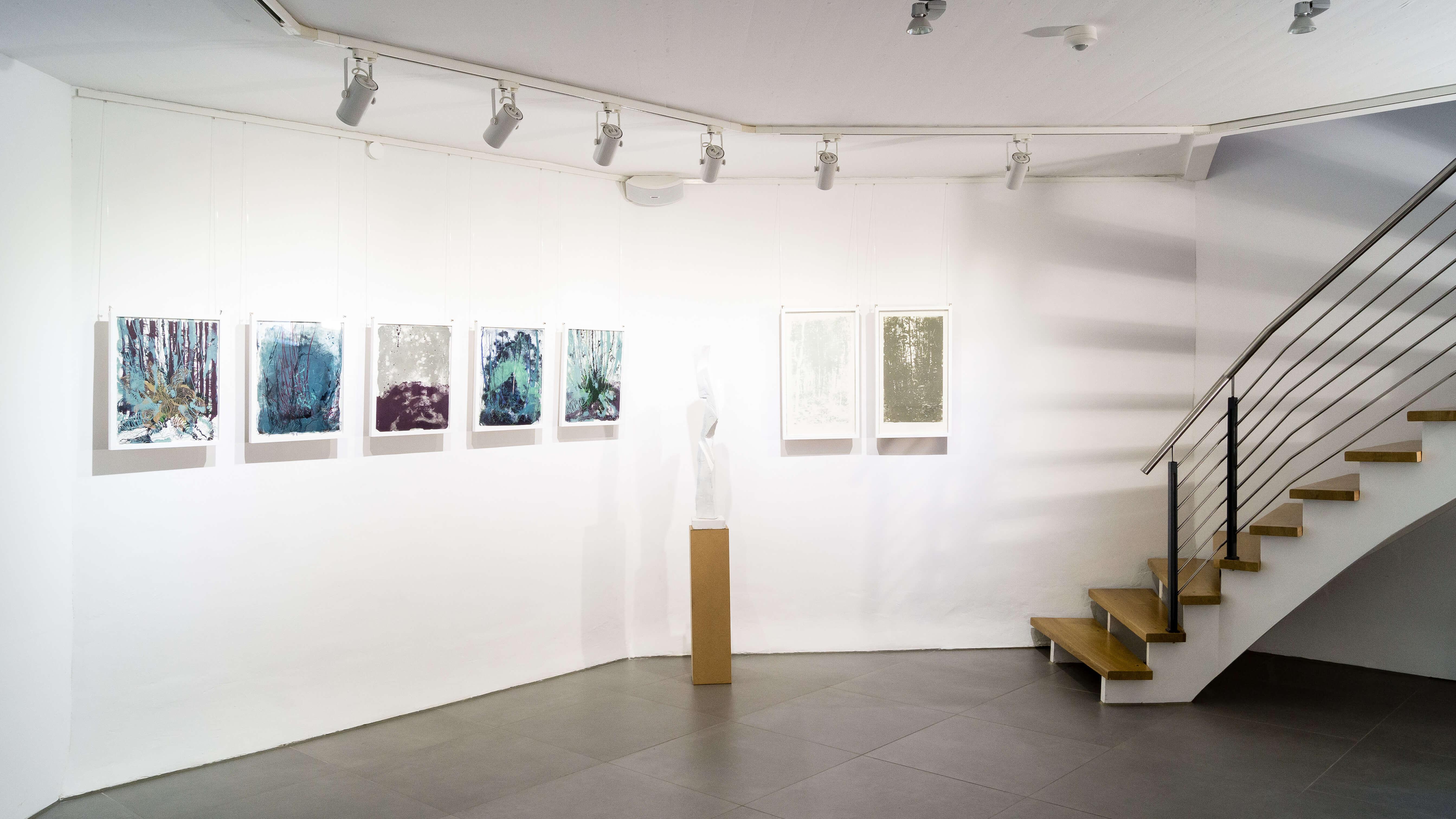 Katharina Albers, Kunstverein die Wassermühle Lohne, Lithographie
