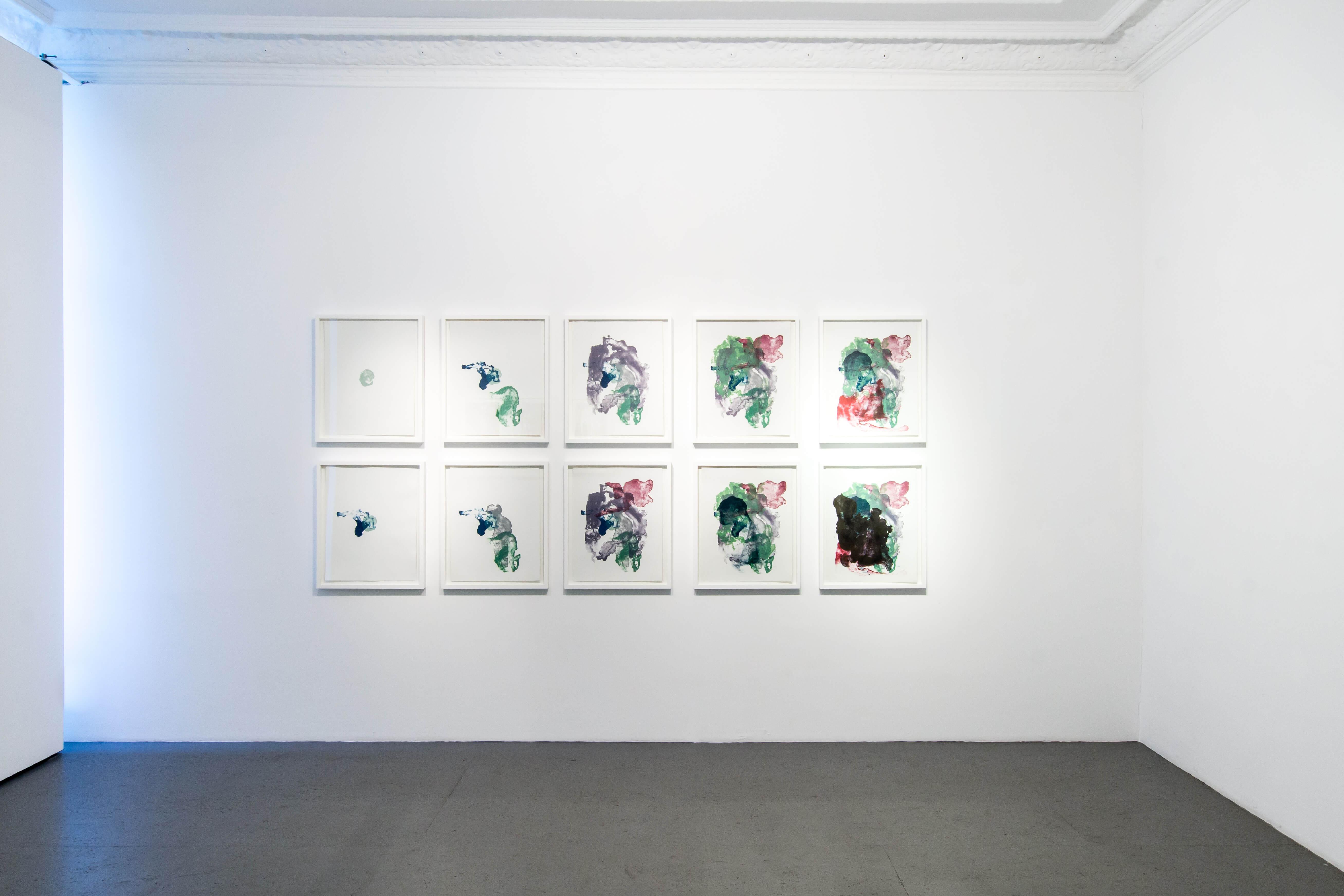 Ausstellungsansicht: Katharina Albers - lithographic nature, Galerie Burster Berlin