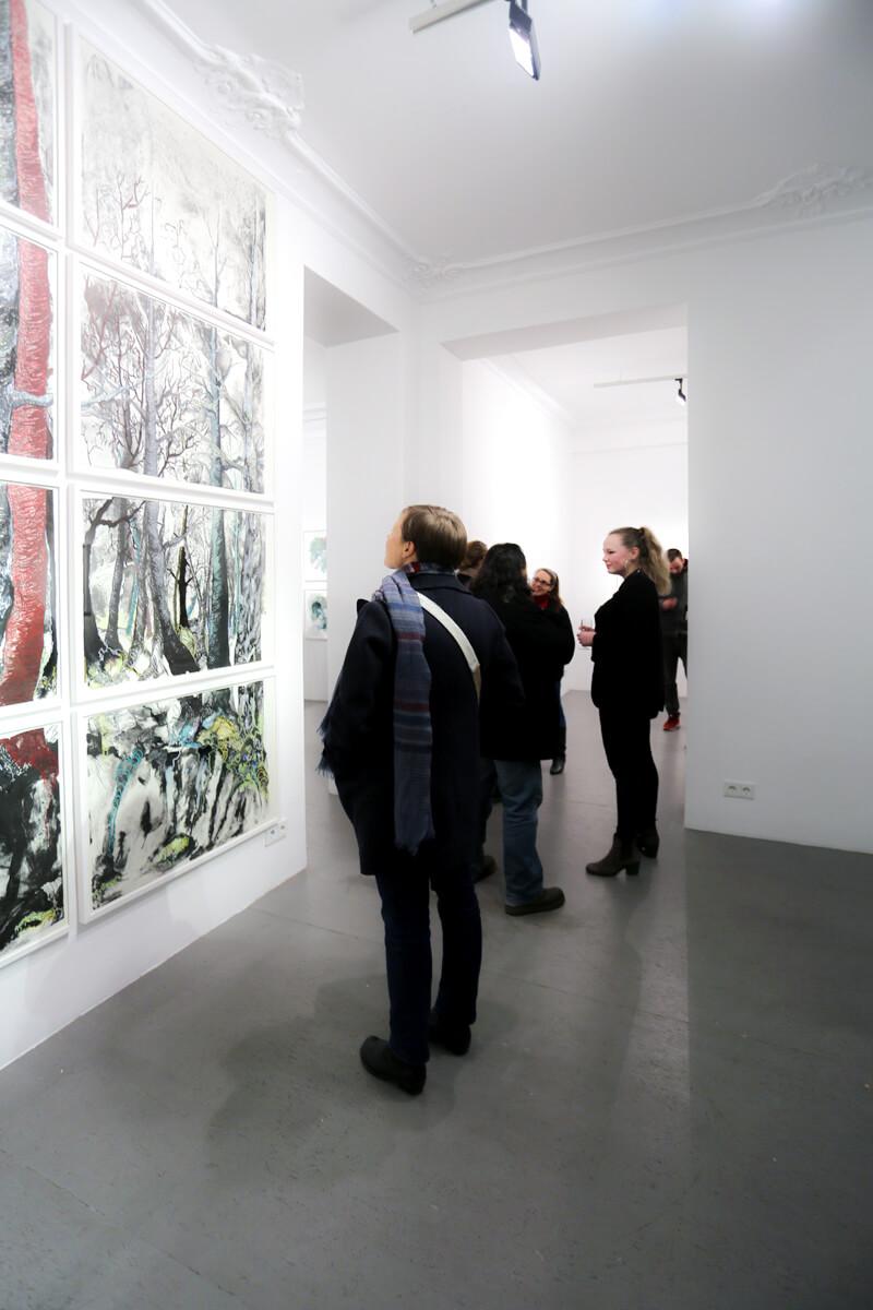 Eröffnung: Katharina Albers - lithographic nature, Galerie Burster Berlin