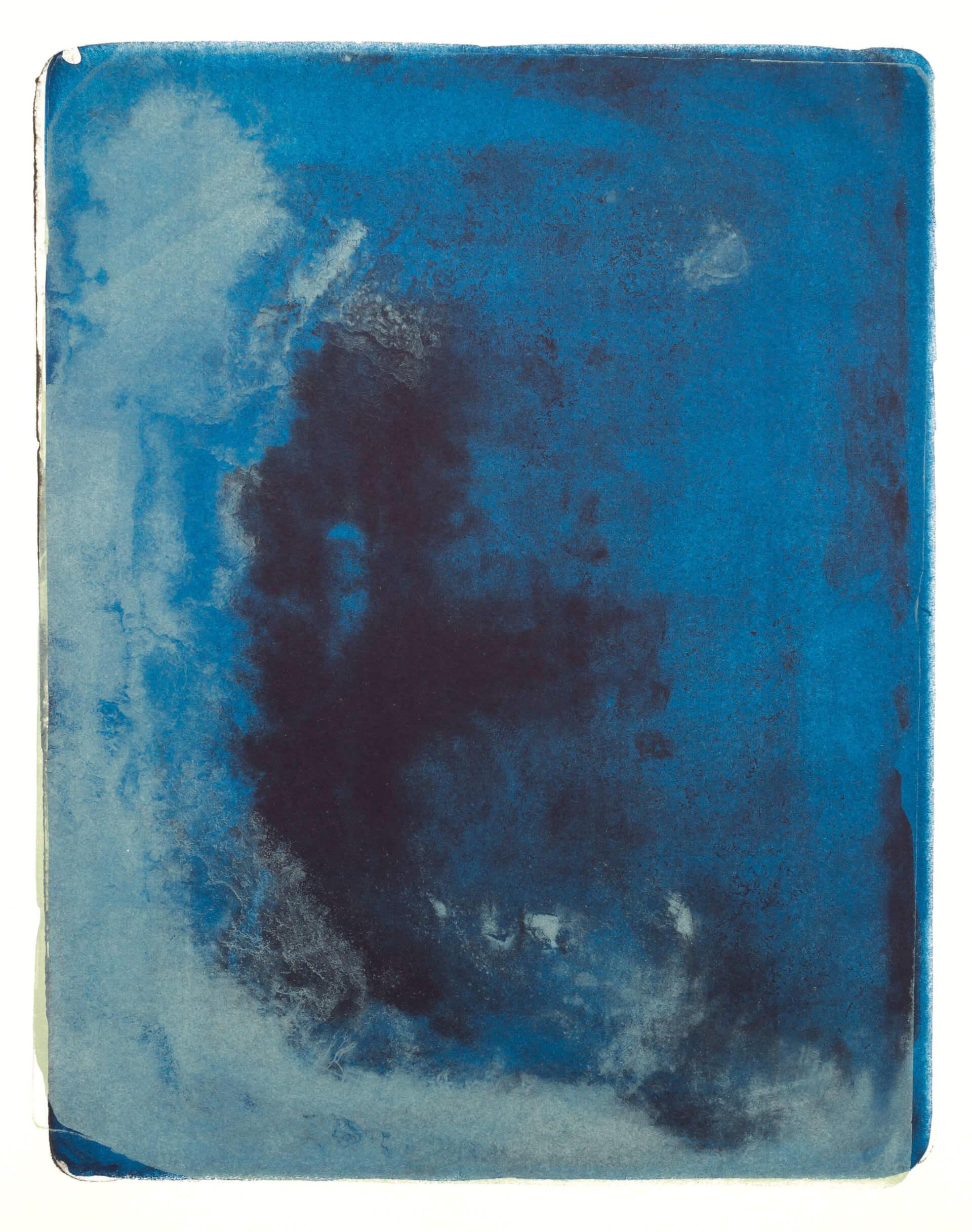 Wald X(K)-VI, 2018, Farblithographie, Unikat, 50x40 cm.
