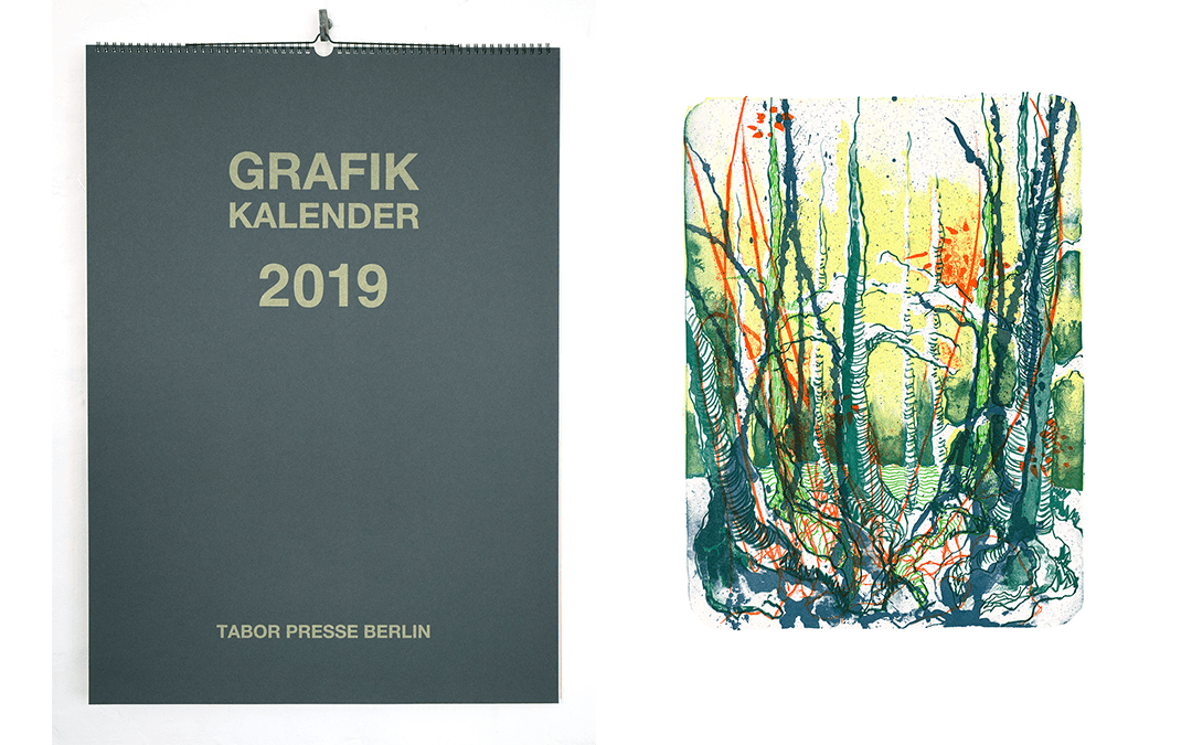 Grafik Kalender 2019 – Tabor Presse Berlin