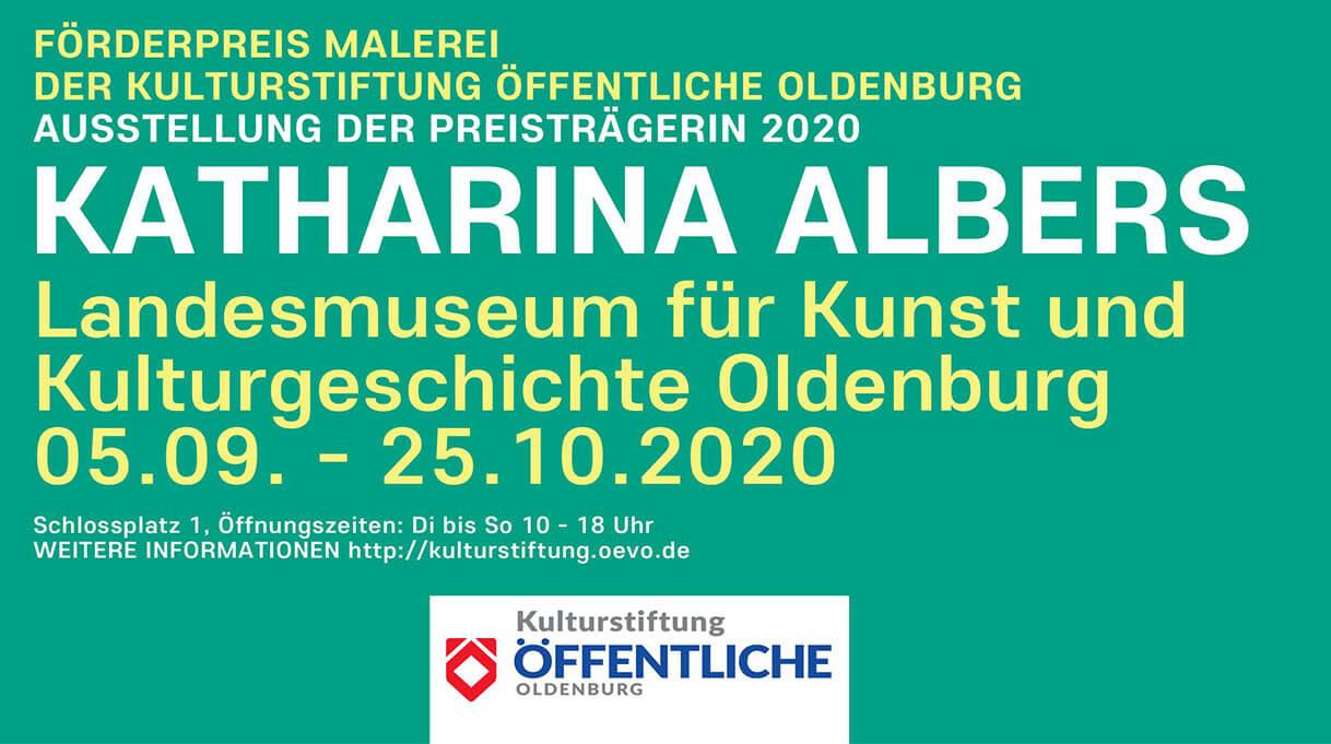 Förderpreis Malerei der Kulturstiftung Öffentliche Oldenburg